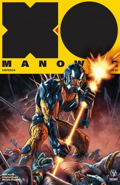 X-O Manowar (2017) #8 VF/NM Lewis LaRosa Cover Valiant