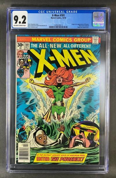 X-Men (1963) #101 CGC Graded 9.2 1st Appearance & Origin Phoenix (1209224013)