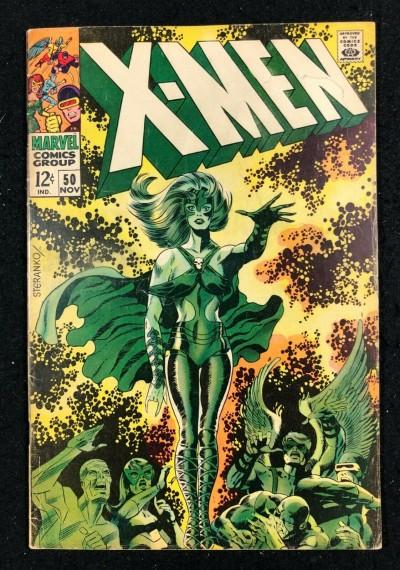 X-Men (1963) #50 VG/FN (5.0) 1st full app Polaris & 1st cover appearance