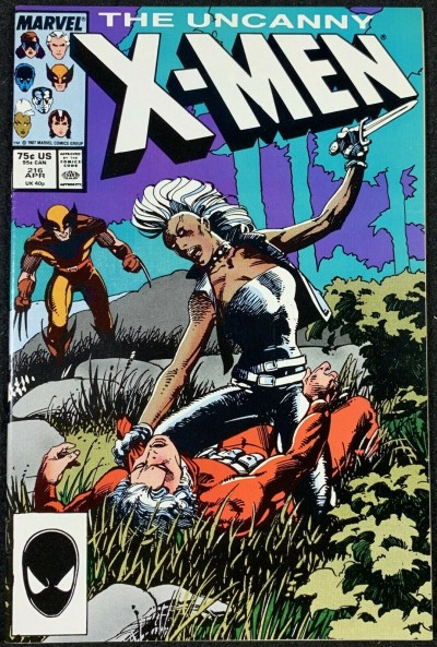 X-Men (1963) #216 NM- (9.2) Barry Smith cover