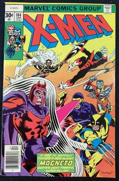 X-Men (1963) #104 VF+ (8.5) #1 cover swipe