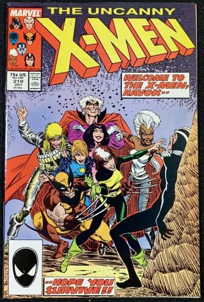 X-Men (1963) #219 NM (9.4)
