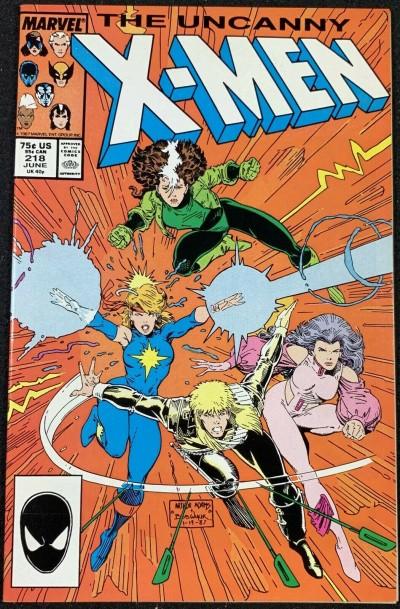 X-Men (1963) #218 NM (9.4) Arthur Adams cover