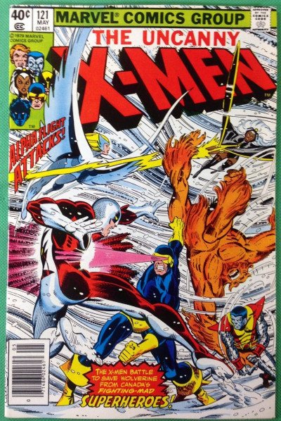 X-men (1963) #121 VF (8.0) 1st full appearance Alpha Flight