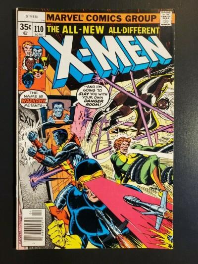 X-Men #110 (1978) F- (5.5) Warhawk Claremont Cockrum 