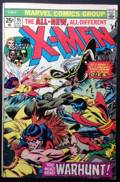 X-men (1963) #95 VG (4.0)