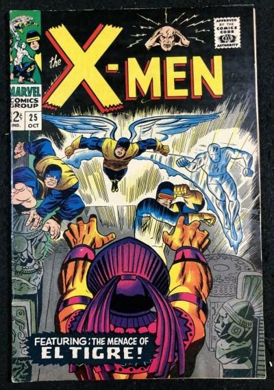 X-Men (1963) #25 VG+ (4.5)