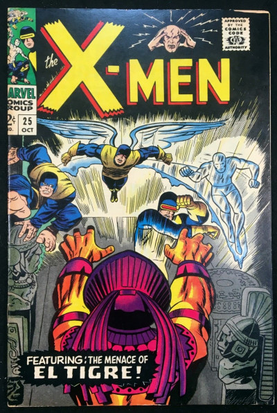 X-Men (1963) #25 FN+ (6.5) El Tigre app