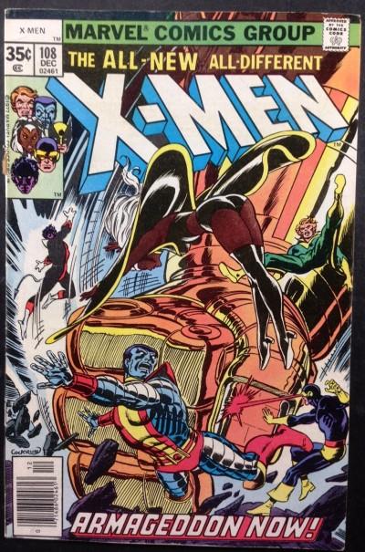 X-men (1963) #108 FN- (5.5)