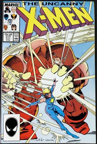 X-Men (1963) #217 NM (9.4) Simonson Juggernaut cover