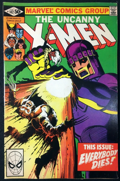 X-Men (1963) #142 FN+ (6.5) Days of Future Past part 2