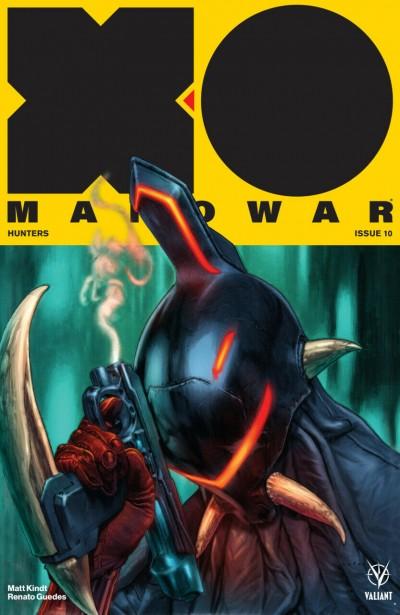 X-O Manowar (2017) #10 VF/NM Lewis LaRosa Cover Valiant
