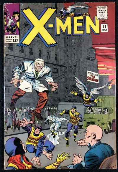 X-Men (1963) #11 FN (6.0) 1st app The Stranger