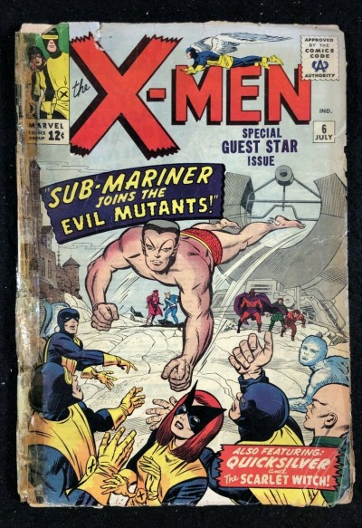X-Men (1963) #6 PR (0.5) Sub-Mariner joins The Evil Mutants
