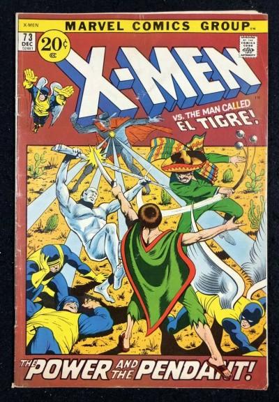 X-Men (1963) #73 VG- (3.5)