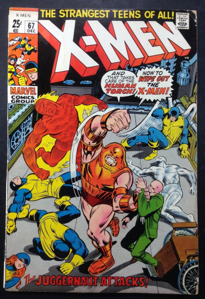 X-men (1963) #67 VG (4.0) 52 page giant