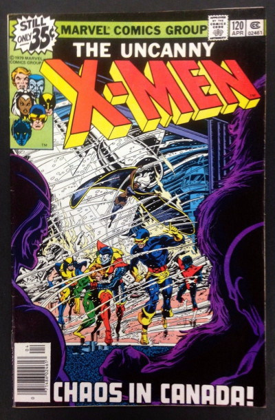X-men (1963) #120 FN+ (6.5) 1st app Alpha Flight