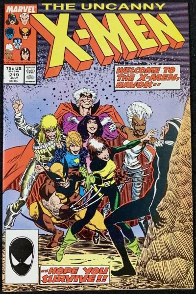 X-Men (1963) #219 VF/NM (9.0)
