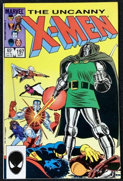 X-Men (1963) #197 NM- (9.2) Doctor Doom cover