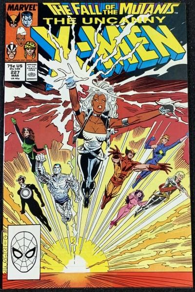 X-Men (1963) #227 NM (9.4) Fall of the Mutants
