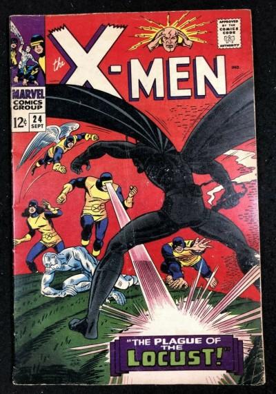 X-Men (1963) #24 VG (4.0)