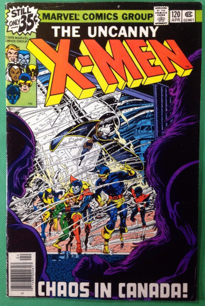 X-men (1963) #120 FN (6.0) 1st app Alpha Flight