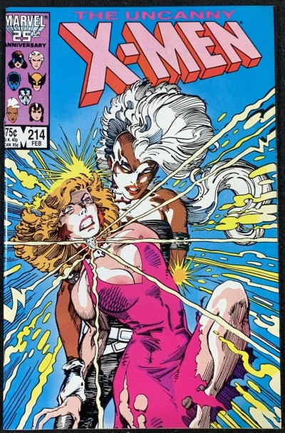 X-Men (1963) #214 NM (9.4) Barry Smith cover