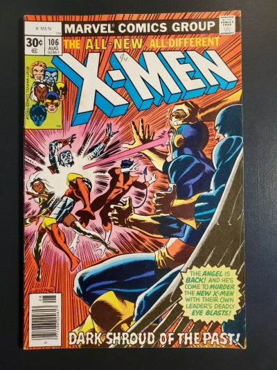 X-Men #106 (1977) F (6.0) Firelord and Misty Knight appearance|
