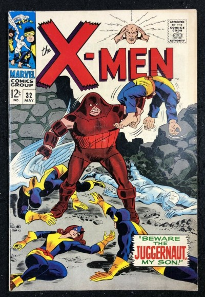 X-Men (1963) #32 GD (2.0) Juggernaut cover and story