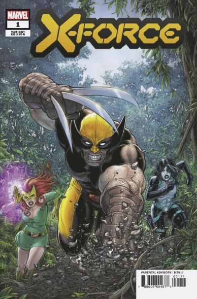 X-Force (2019) #1 VF/NM-NM Juan Jose Ryp Variant Cover