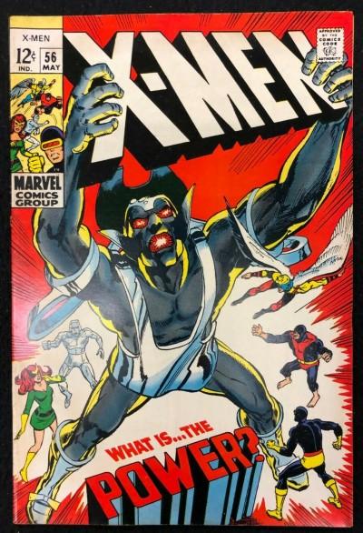 X-Men (1963) #56 FN (6.0) 1st Appearance The Living Monolith Neal Adams Art