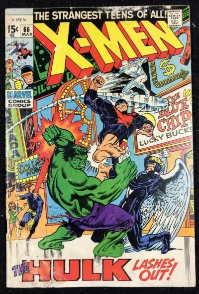 X-Men (1963) #66 GD (2.0) vs Hulk