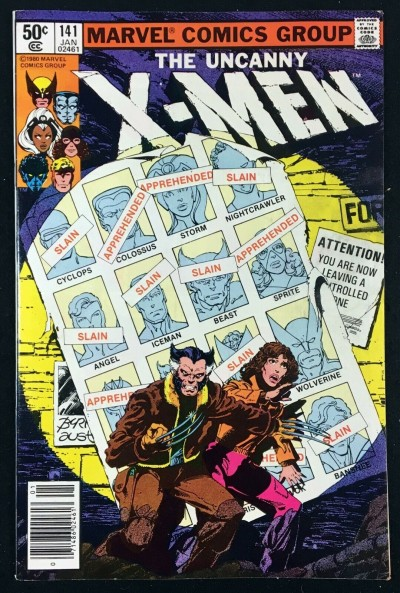 X-Men (1963) #141 VF (8.0) Days of Future Past part 1 of 2
