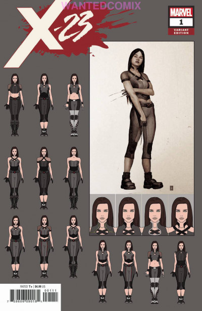 X-23 (2018) #1 VF/NM Choi Design Variant Cover
