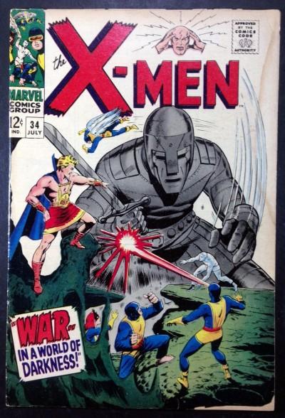 X-MEN (1963) #34 GD (2.0)
