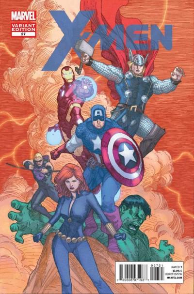 X-men (2011) #27 VF/NM-NM Art Appreciation Variant Cover