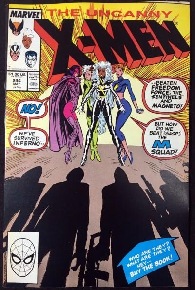 X-Men (1963) #244 VF+ (8.5) 1st app Jubilee