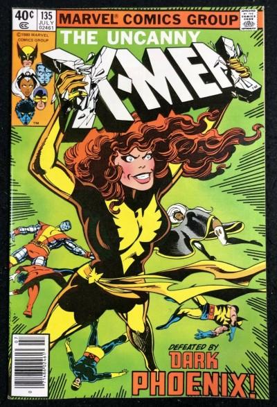 X-Men (1963) #135 NM (9.4) classic Dark Phoenix cover by John Byrne