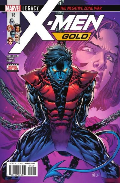 "X-men Gold (2017) #'s 16 17 18 19 20 Complete ""The Negative Zone War"" Set"