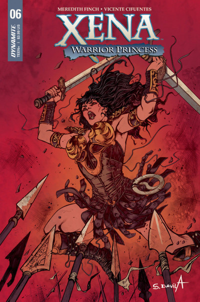 Xena: Warrior Princess (2018) #6 VF/NM Sergio Davila Cover A Dynamite