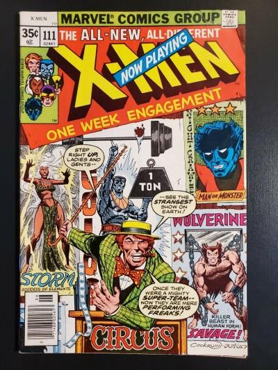 X-Men #111 (1978) VG+ (4.5) 1st Mesmero Claremont Cockrum|