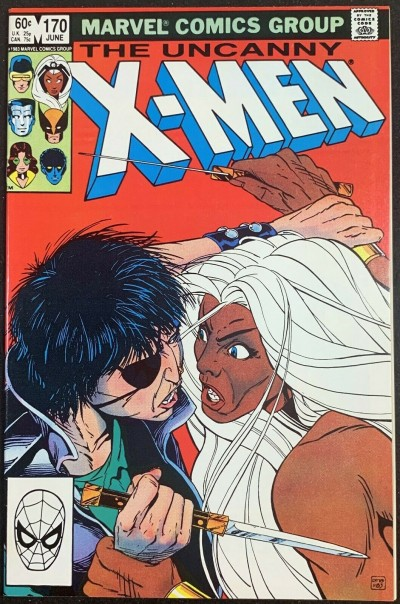 X-Men (1963) #170 NM (9.4) Morlocks app Paul Smith art
