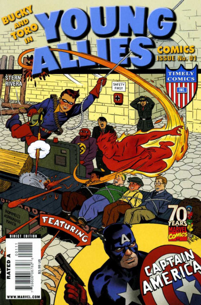 YOUNG ALLIES 70TH ANNIVERSARY SPECIAL #1 VF+ TIMELY COMICS