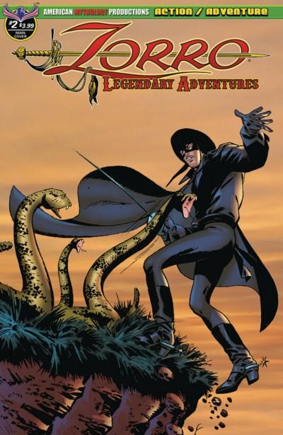 Zorro: Legendary Adventures (2019) #2 of 4 VF/NM American Mythology Productions