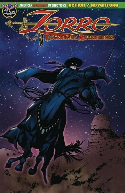 Zorro Legendary Adventures (2018) #1 VF/NM (9.0) or better