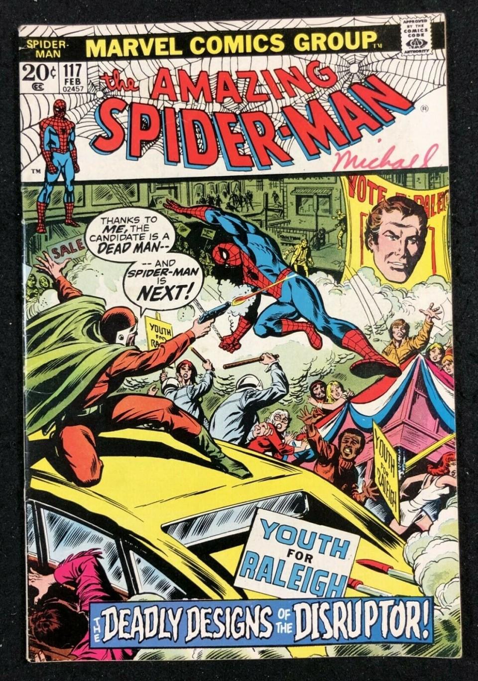 Amazing SpiderMan (1963) 117 FN (5.5)