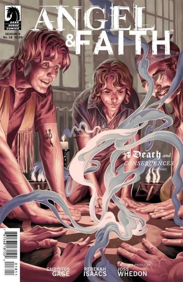 ANGEL & FAITH (2011) #18 SEASON 9 NM COVER A DARK HORSE ...  Gwen Raiden Comic
