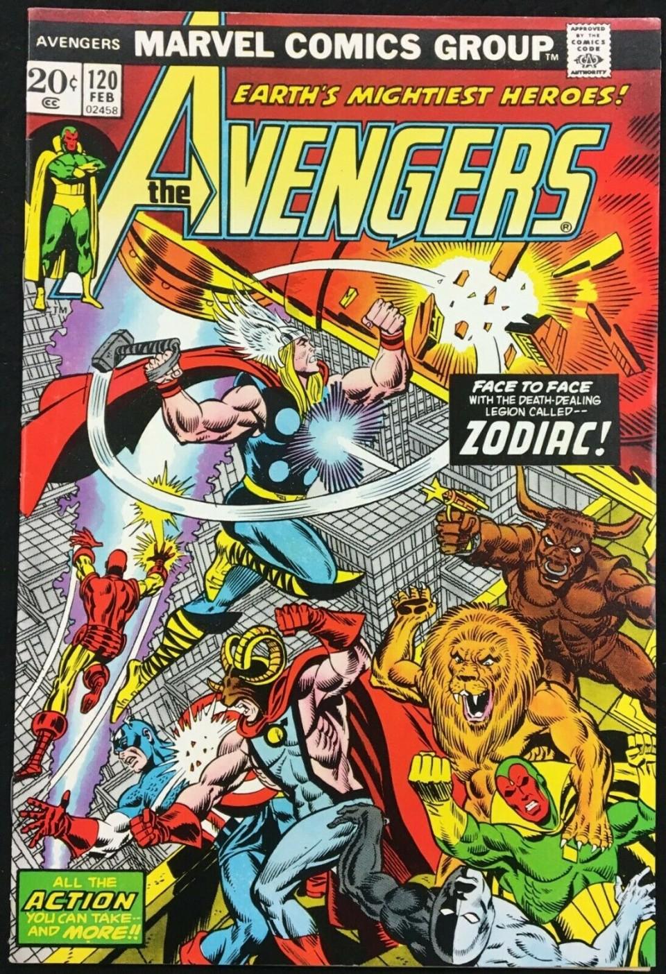 1980 MARVEL THE AVENGERS #201 HIGHER GRADE VF//VF+