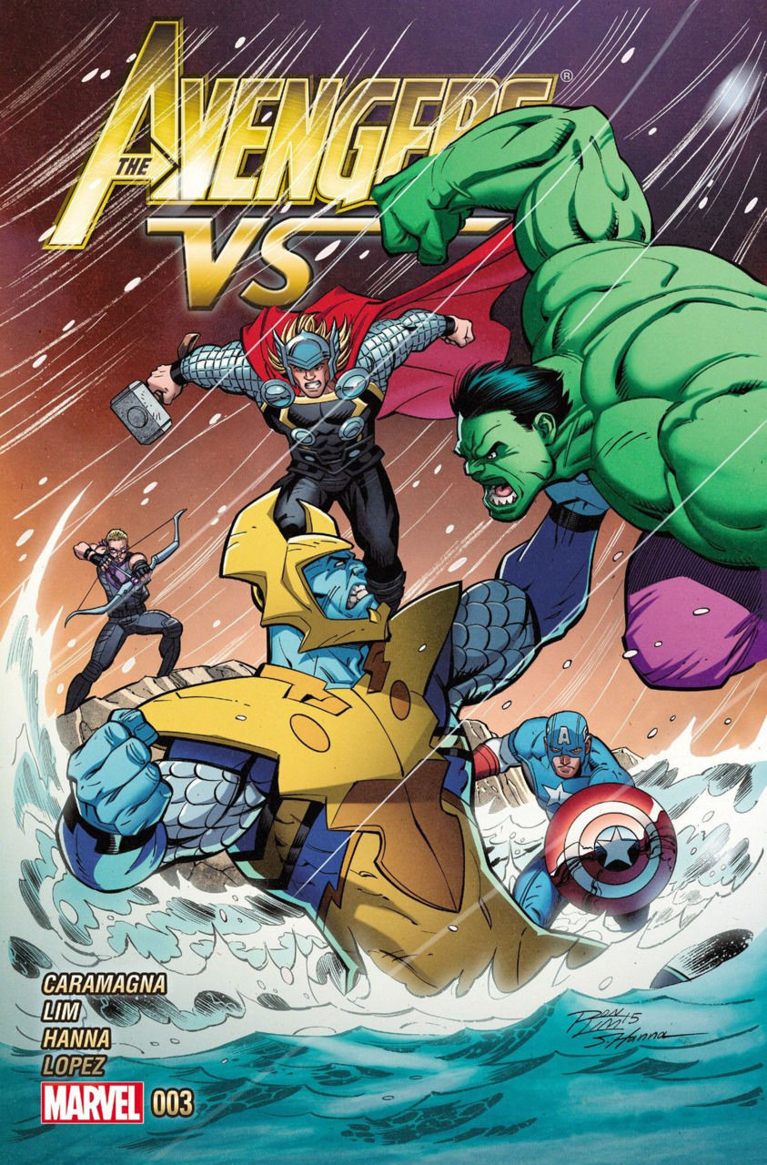avengers vs 2015 1 vf nm ron lim cover silver age comics