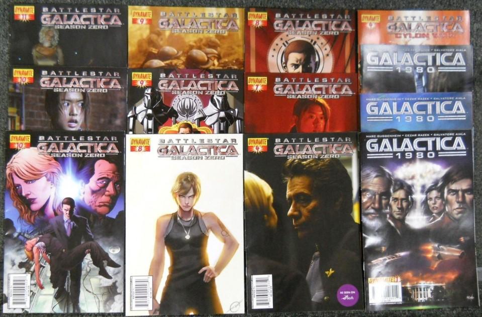 Battlestar Galactica Origins #10 Dynamite NM